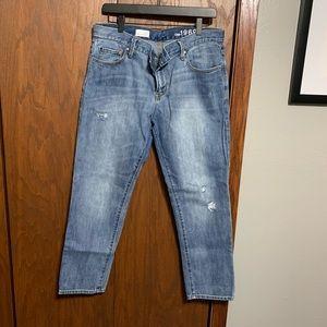 Gap Factory Sexy Boyfriend Destroyed Jeans